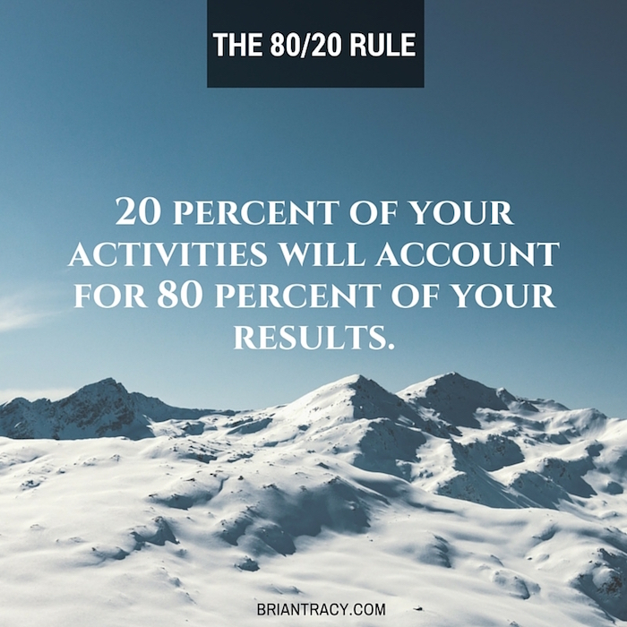 8020-rule-brian-tracy-quote
